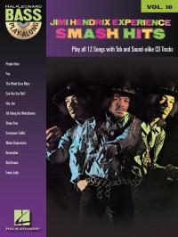 Bass Play Along Volume 10: Jimi Hendrix Smash Hits (Book and CD)