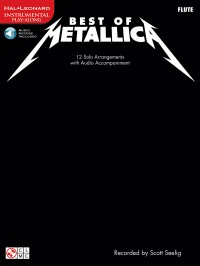 Metallica: Best Of - Flute (Book/Online Audio)