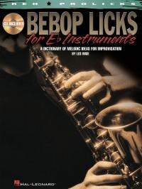 Bebop Licks For E Flat Instruments -