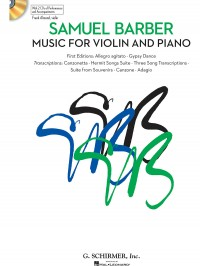 Samuel Barber: Music For Violin And Piano (Book/Online Audio)