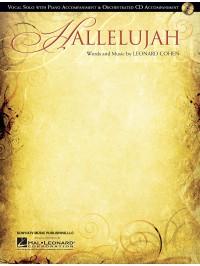 Leonard Cohen: Hallelujah - Vocal Solo/Piano Accompaniment (Book/Online Audio)