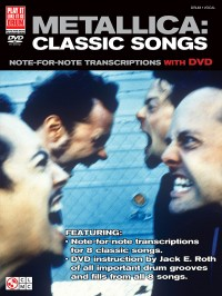 Metallica: Classic Songs - Drums (Book/DVD)
