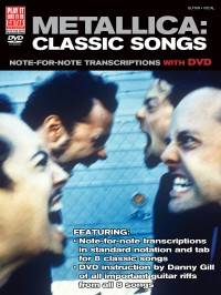 Metallica: Classic Songs - Guitar (Book/DVD)