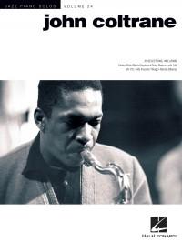 Jazz Piano Solos Series Volume 24: John Coltrane