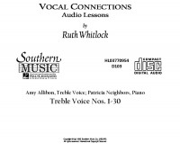 Ruth Whitlock: Treble Cd For Vocal Connections
