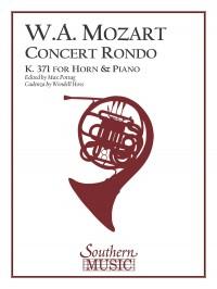 Wolfgang Amadeus Mozart: Concert Rondo, K371 (In-F)