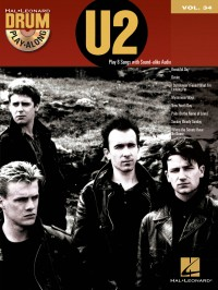 Drum Play-Along Volume 34: U2 (Book/CD)