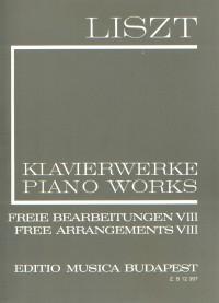 Liszt: Free Arrangements VIII (paperback)