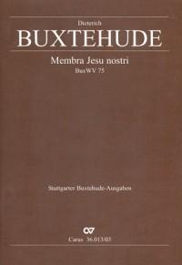 Buxtehude: Membra Jesu nostri (BuxWV 75)