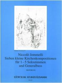 Jommelli, Niccolò: 7 kleine Kirchenkompositionen