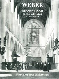 Weber, Carl Anton: Messe für Chor und Orgel