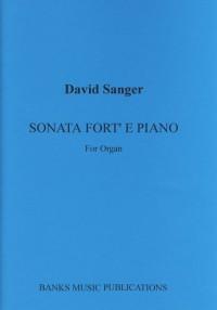 Sanger: Sonata Fort' E Piano