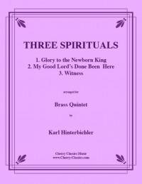 Karl Hinterbichler: Three Spirituals