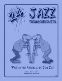 Gene Zika: 24 Jazz Trombone Duets