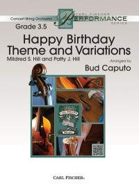 Patty S. Hill_Mildred J. Hill: Happy Birthday Theme and Variations