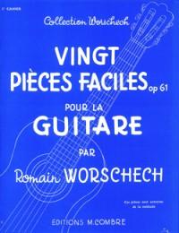 Romain Worschech: Pièces faciles (20) Op.61 cahier n°3