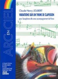 Claude-Henry Joubert: Variations sur un thème de Clapisson