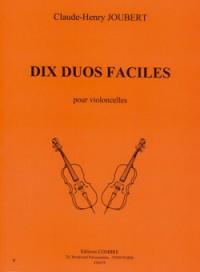 Claude-Henry Joubert: Duos faciles (10)