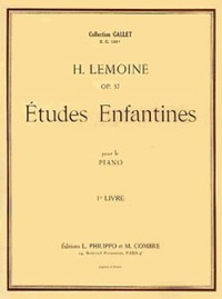Henry Lemoine: Etudes enfantines Op.37 Vol.1