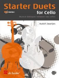 Zwartjes: Starter Duets for Cello