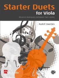 Zwartjes: Starter Duets for Viola
