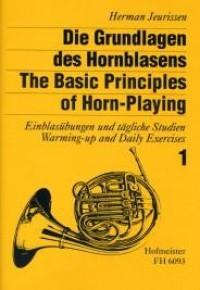 Herman Jeurissen: Die Grundlagen des Hornblasens - Band 1