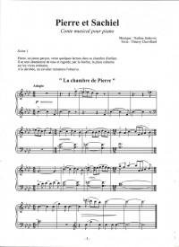 Nadine Jankovic: Pierre et Sachiel