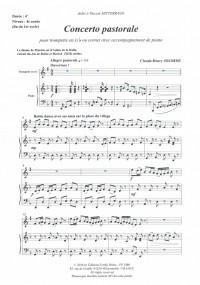 Ci.H. Jobert: Concerto Pastorale