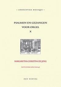 A. de Jong: Psalmen & Gezangen 10