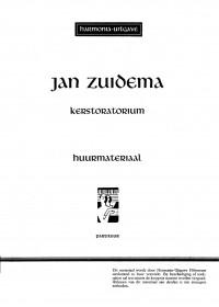 Jan Zuidema: Kerstoratorium