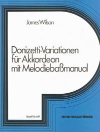 James R. Wilson: Donizetti Variationen