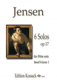 Niels Peter Jensen: 6 Solos Op. 17 Vol.1