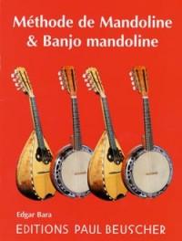 Edgar Bara: Méthode de mandoline et banjo mandoline