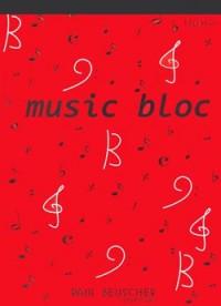 Bloc Papier Musique (12Prt)