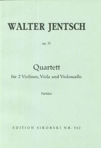 Walter Jentsch: Streichquartett