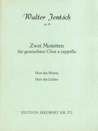Walter Jentsch: 2 Motetten