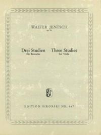 Walter Jentsch: 3 Studien