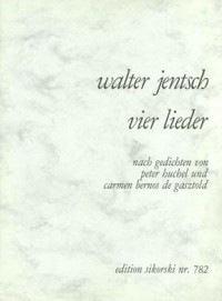 Walter Jentsch: 4 Lieder