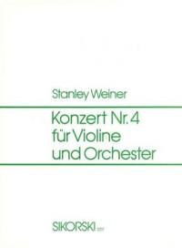 Stanley Weiner: Konzert Nr. 4