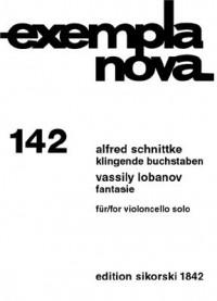 Alfred Schnittke_Vassily Lobanov: Klingende Buchstaben-Fantasie