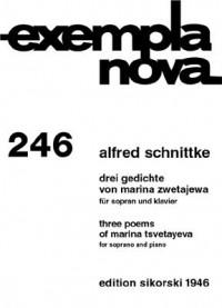 Alfred Schnittke 3 Gedichte Von Marina Zwetajewa Presto