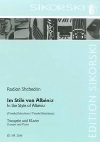 Rodion Shchedrin: Im Stile von Albéniz