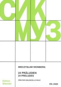 Mieczyslaw Weinberg: 24 Präludien
