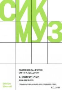 Kabalevsky, D: Album Pieces
