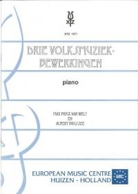 M.P. van Wely: 3 Volksmuziekbewerkingen