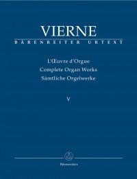 Vierne, Louis: 5. Symphonie op. 47