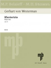 Westermann, G v: Piano Trio op. 18