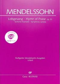 Mendelssohn: Lobgesang, Op. 52 (Symphony No. 2)