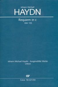 Haydn: Requiem in c (MH 155; c-Moll)