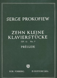 Prokofiev: Prelude (from 10 Little Piano Pieces) Op.12 No.7